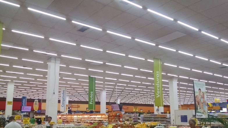 Supermercados Coop - Santo andré e Mauá - Projeto de iluminação e Retrofit.