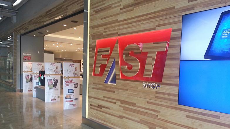 Fast Shop - São Paulo - Execução das Lojas Shopping Lar Center Osasco.