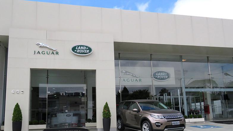 Grupo Itavema - Retrofit da loja Land Rover / Jaguar